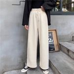 Casual New Fashion Pants Plus Size New Ladies White Trousers