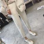 Ladies Office Pants Fashion Casual White Long Pants