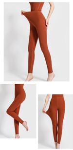 new warm leggings Slim warm pants