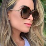 New Fashion Metal Frame Square punk Style Gradient Sunglasses