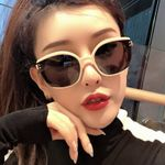 Luxury Brand Cat Eye Sunglasses Female Retro Sun glasses