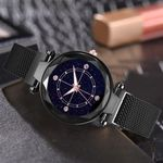 Luxury High Quality watches purple Diamond Quartz Watch