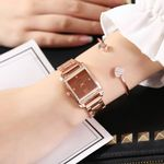 High Quality Fashion watches Stainless Steel Band Quartz