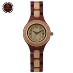 Vintage Wood Watch Creative Wooden Bangle Watch