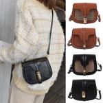 Shoulder Bags solid color Simple Crossbody Bag