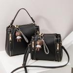 the ladies portable handbag single shoulder diagonal package