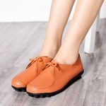 Designer Ladies Flats Shallow Mouth Soft Work Shoe