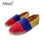 Fashion Leather Flat Shoes Hand-sewn Leather Loafers