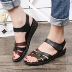 flat sandals outdoor beach sandals open toe breathable soft