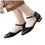 new Fashion Pure Color Breathable Pointed-Toed Sandals