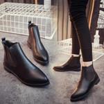 Short Boots Wind Sharp Chelsea Boots