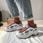Chunky Sneakers Thick Soled Tenis Female Mesh Breathable