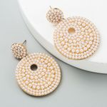 New Arrival Statement Earring High Quality Big Round