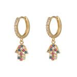 Fashion Classic Geometric Dangle Asymmetric Earrings