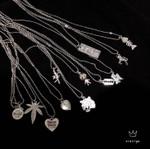 Music Festival Angel Mermaid Rabbit Head Hemp Leaf Necklace