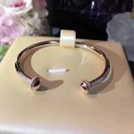 Titanium steel Jewelry Rotate Ball Bangle Bead Bangle Wedding