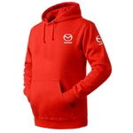 Mazda Pullover Hoodies High Quality Sweatshirt Pullover
