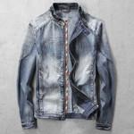 Jeans Jacket Coats Super Man Overcoat Diamond