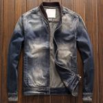 Motorcycle Jeans Jackets and Coats Denim Overcoats