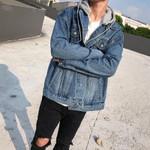 Jeans Jackets Coat New Loose Fit Streetwear Denim