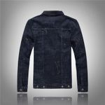 Denim Jacket Cool Casual Printed Jeans Coats Outerwear