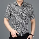 Shirt Short Sleeve Shirts Casual Slim Fit Clothes