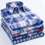 New Fashion Cotton Short Sleeved Casual Shirt