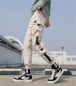 Cargo Pants Loose Hip hop Streetwear Joggers Pocket