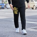 section casual pants large size trend loose feet harem pants