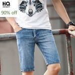 Fashion Classic Straight Slim Fit Knee-length Trousers