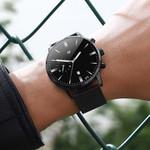 Simple High-End Calendar Watch Quartz Stainless Steel