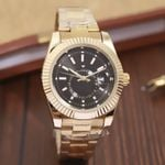 Luxury watch new automatic quartz calendar watch