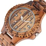 Simple Retro Wood Watch Top Luxury Full Wooden Watch