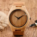 Simple Wood Watch Natural Bamboo Wooden Watches