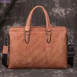 Leather Cross Crossbody Bag Cowhide Messenger Bag