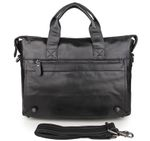 leather fashion durable shoulder bag Business Style Handbag