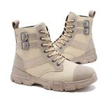 Boots Anti-Skidding Leather Shoes Popular Comfy