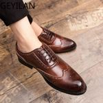 Business Fashion Lace-up Oxfords Wedding Party Footwear