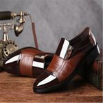 Oxford Patent Leather Dress Shoes Business Shoes