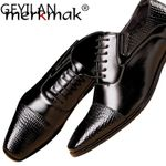 Top Quality Oxfords Genuine Leather Dress Shoes