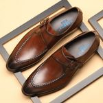 Genuine Leather Shoes Business Dress Formal Shoes