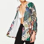 Shirt Kimono Boho Cardigan Vintage Floral Print Blouse