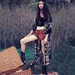 Kimono Cardigan Tops Outwear Casual Fashion