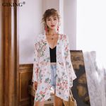 Boho Kimono Cardigan Fashion Long Sleeve Chiffon