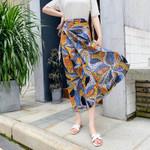 Maxi Skirt Floral Print Lotus Bohemian Hippie Long Skirts