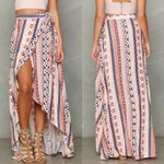 Ladies Kaftan Slit Skirts Long Maxi Skirt
