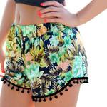 Casual Loose Shorts Bohemian Style Boho