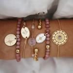 Boho Bracelets & Bangles Bohemian Round Beaded Charm