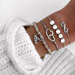 Bohemian Bracelets & Bangles Set Vintage Bead Boho Charm