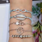 Boho Rose Map Bracelets & Bangles Bohemian Round